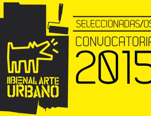 Artistas Nacionales Seleccionadas/os BAU15