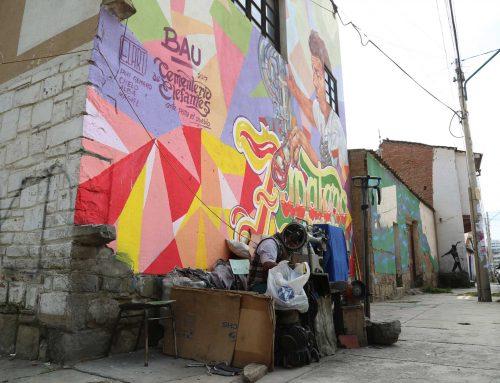 Arte consciente, coloreando las calles de la Llajta