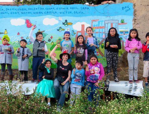 Taller de pintura infantil mARTadero #BAU17